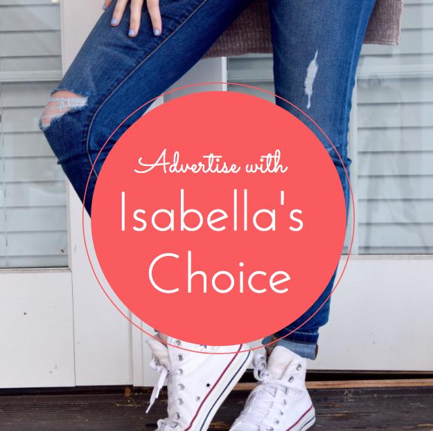 isabella's Choice sponsorship