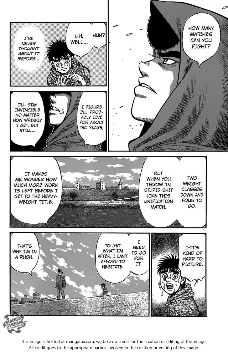 Hajime no Ippo - Chapter 1080