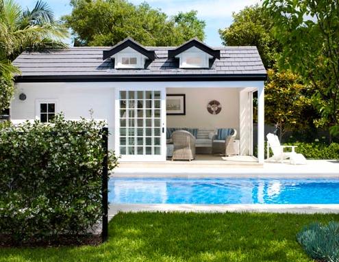 Dreamhouse poolhuset for Pool design sims 3