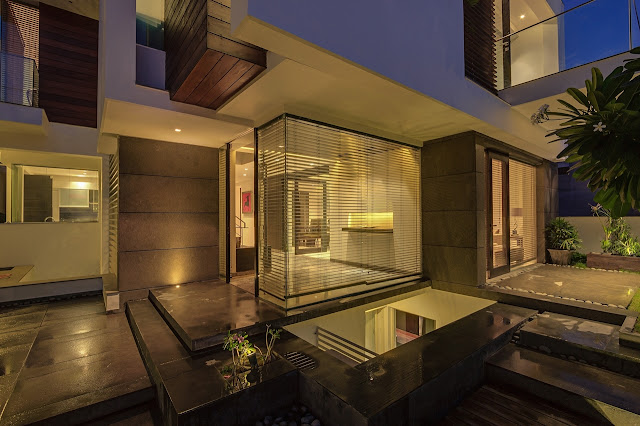 Picture of modern entrance into the asian dream home