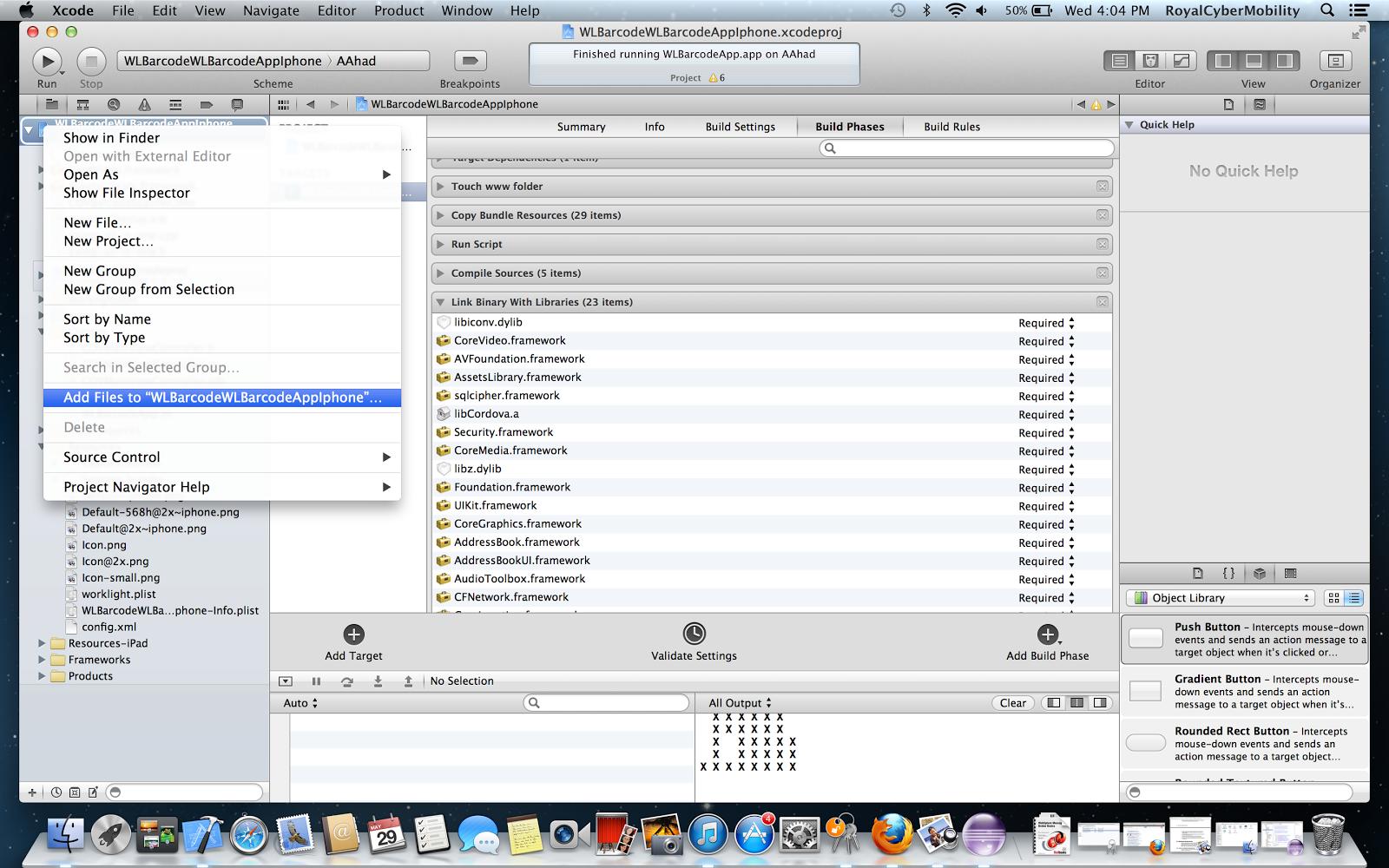 Sajjad Hussain Blog: IBM Worklight PhoneGap BarcodeScanner + QR Code