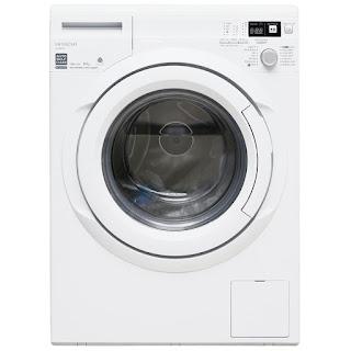 Máy giặt lồng ngang Hitachi BDW85TSPWH