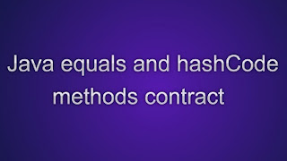 hashCode() and equals() methods in Java