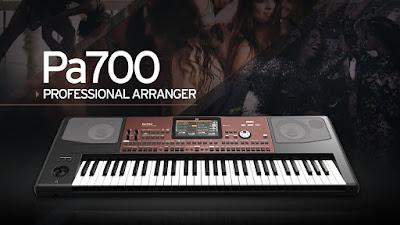 Keyboard Terbaru Korg PA 700 dan PA 100
