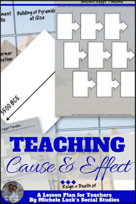 Teaching cause and effect can be easy if you use the right strategies and resources with your students. Try these for great success with your middle or high school classes.