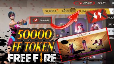 Download Script 50000 FF Token Free Fire Permanen 2019 [Work 100%]