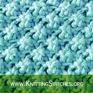 The Trinity Knit Stitch Tutorial. Here's how! Free stitch pattern!