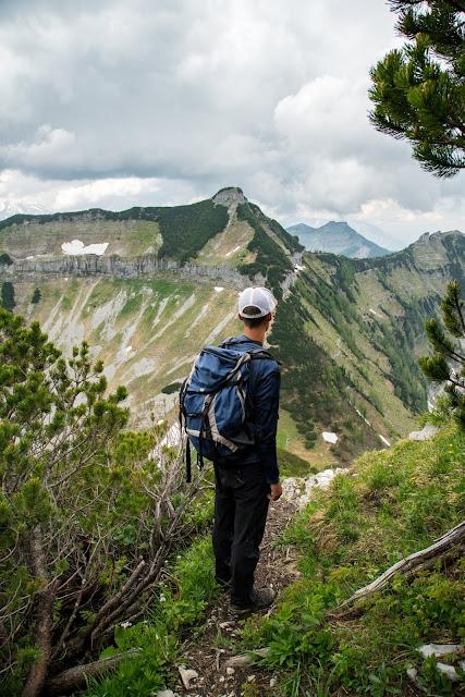Von Hintersee aufs Gennerhorn  Wandern Fuschlseeregion  Osterhorngruppe 09