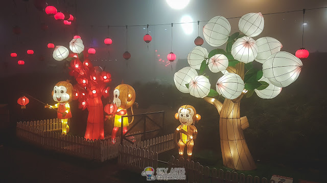 Animal sculpture lanterns at Genting Highland during Mid-Autumn Festival