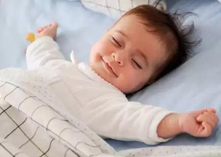 Bayi tidur lucu sekali
