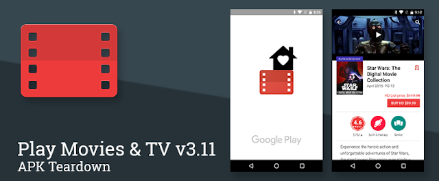 Google Play Movies Got v3.11 Update with Guide to How Bundles will work with Family Library : Download APK