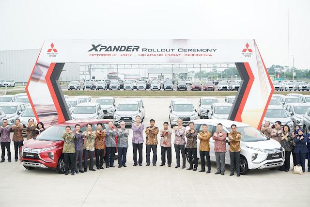Peresmian Penyerahan Mitsubishi Xpander kepada Konsumen