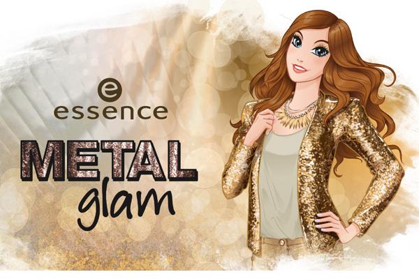 """ESSENCE """"Metal Glam"""" - edycja limitowana"""