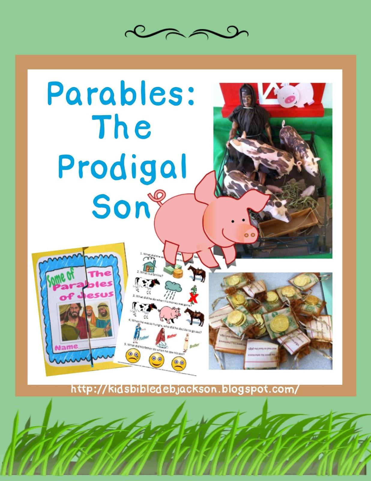 Bible Fun For Kids 4 12 Parable Prodigal Son
