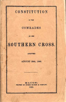 Today in Southern History: Comrades of the Southern Cross