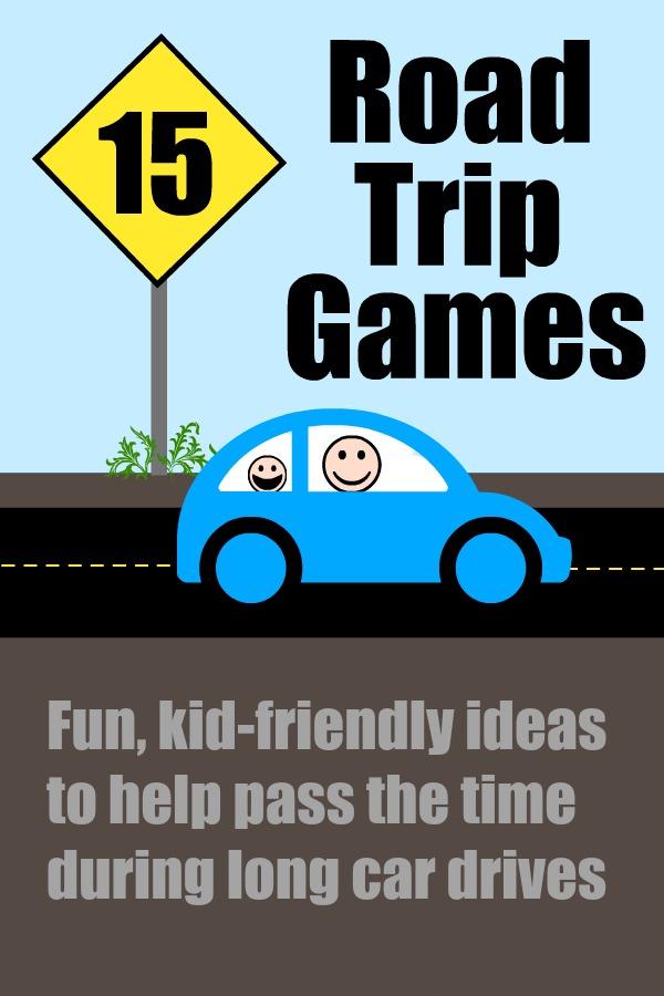 Cindy Derosier My Creative Life Family Friendly Road Trip Games