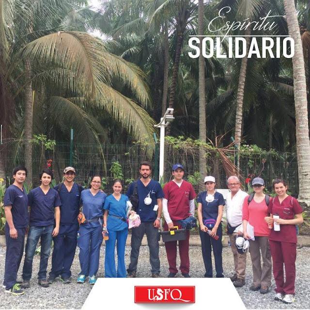 La Universidad San Francisco de Quito, por medio de la Escuela de Medicina y el Hospital de los Valles en apoyo a la crítica labor que está desempeñando el Ministerio de Salud Pública del Ecuador