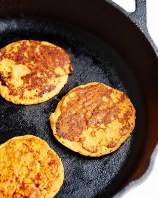 Recipe: 2-Ingredient Sweet Potato Pancakes