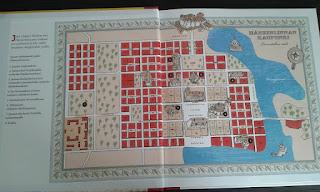 Map of Hämeenlinna when Jean Sibelius was a child.