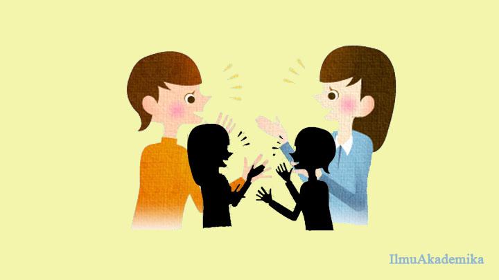 teks dialog bahasa arab 4 orang perempuan