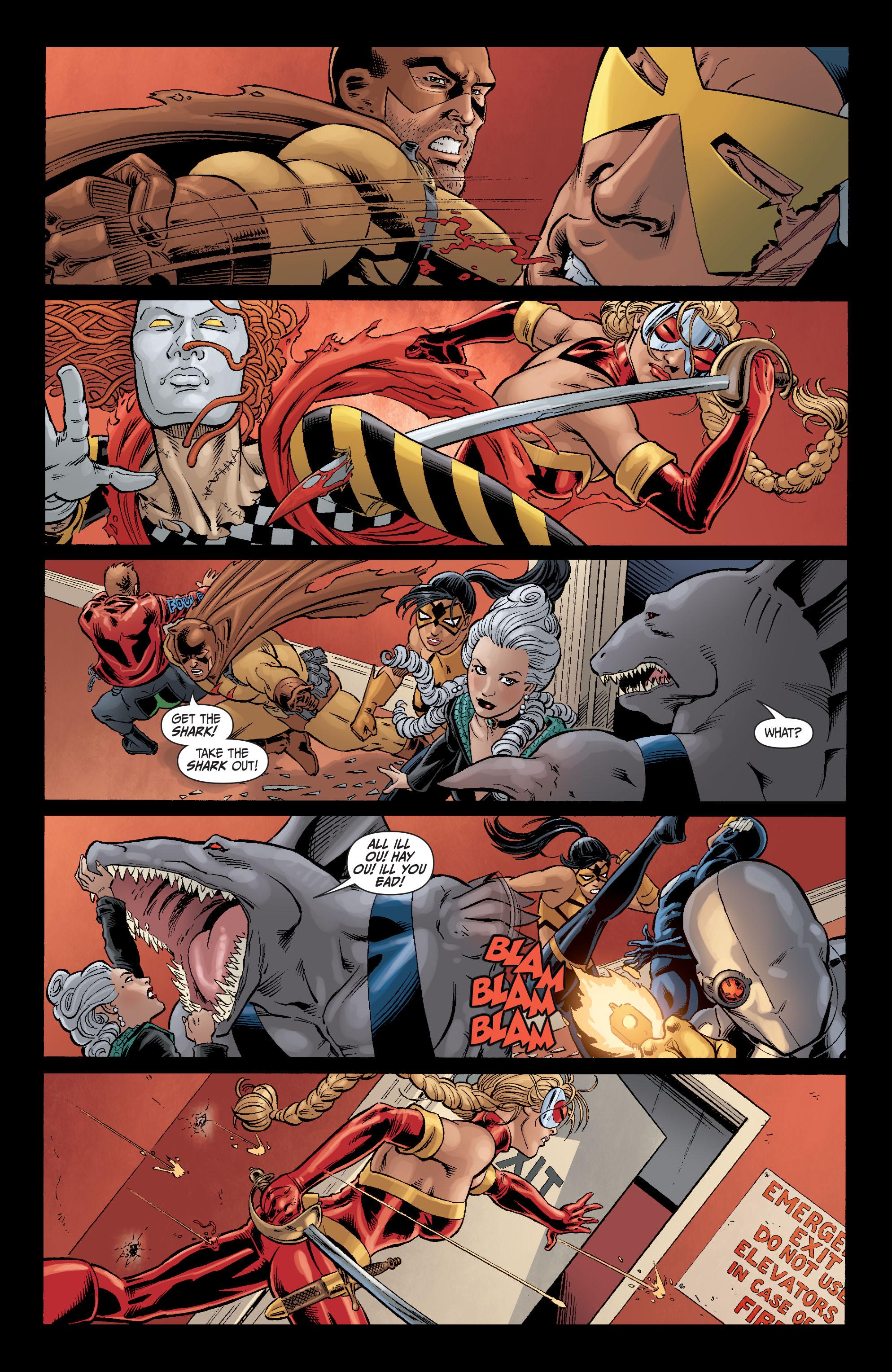 Read online Secret Six (2008) comic -  Issue #5 - 20