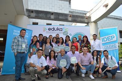 DOCENTES DE BOGOTÁ, PRESENTES EN CONGRESO EDUKATIC 2018