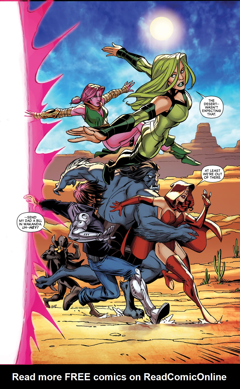 Read online Exiles (2009) comic -  Issue #3 - 20