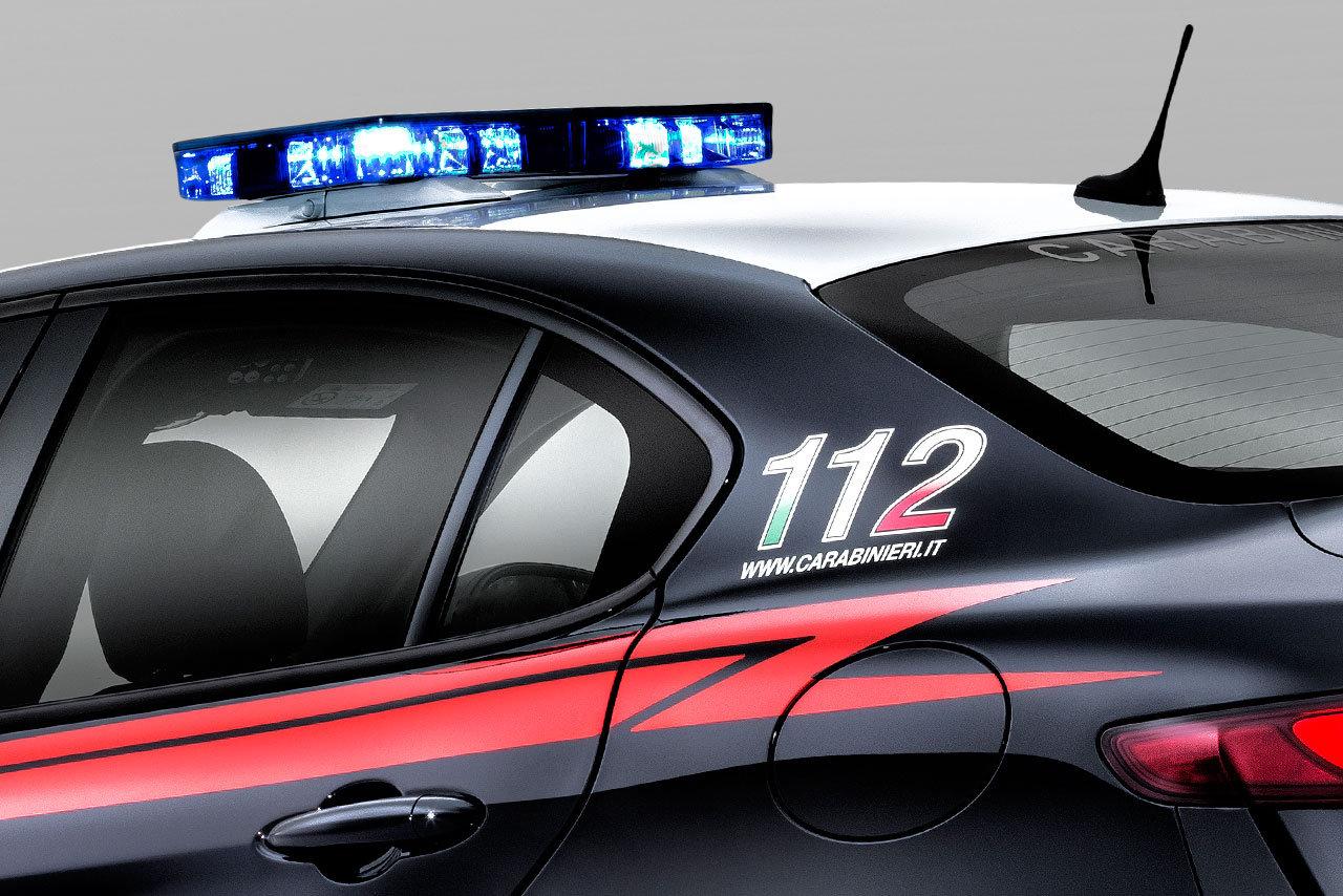 New Alfa Romeo Guilia Qv Joins Italian Carabinieri W Video
