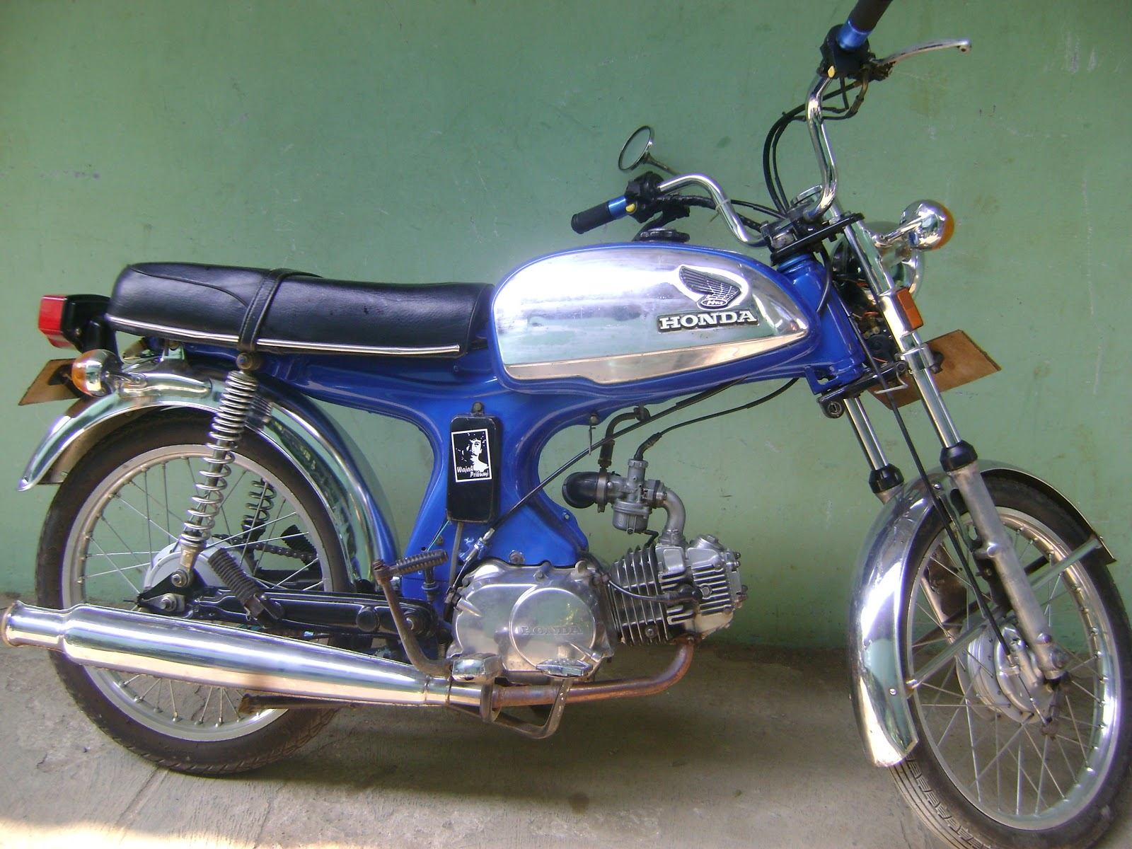 Adon Light Blog Re Born Honda S 90 1969