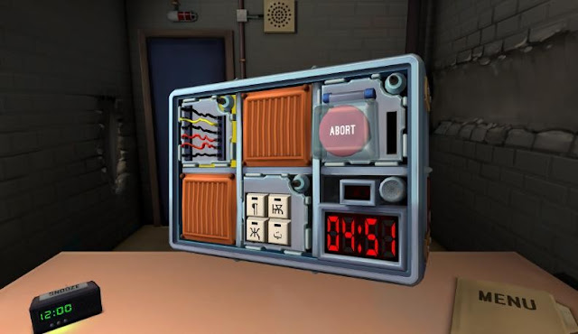 Keep talking and nobody explodes gear vr