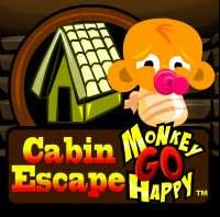 PencilKids MonkeyGOHappy Cabin Escape