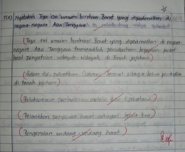 Cara Menjawab Soalan Esei Sejarah Pt3 Selangor V
