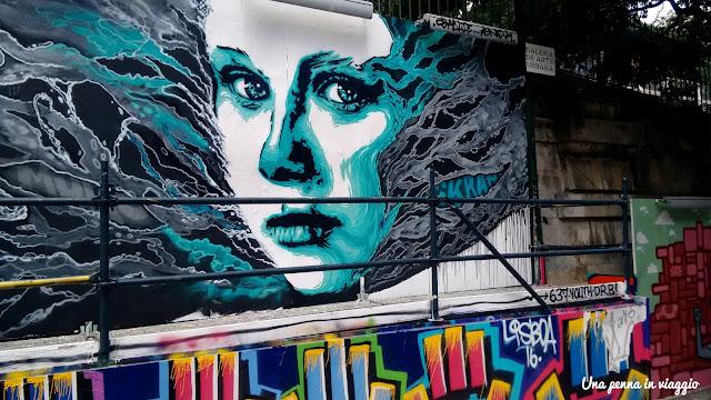 street art barrio alto lisbona