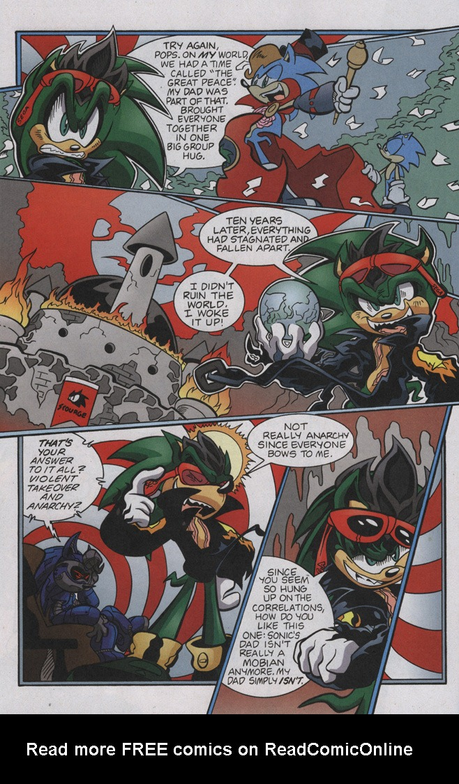 Read online Sonic The Hedgehog comic -  Issue #192 - 23