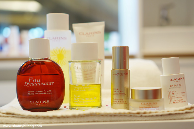 Shanty Huang: Skin Spa & Open Spa By CLARINS