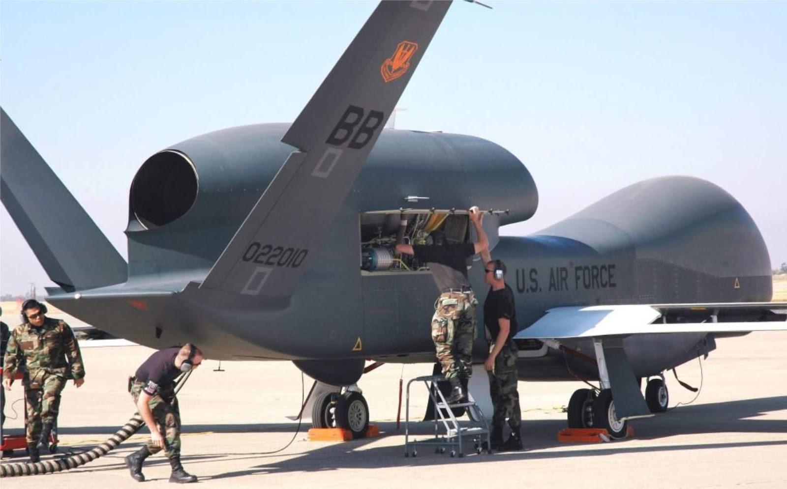 Pesawat tanpa awak siluman AS mendarat darurat