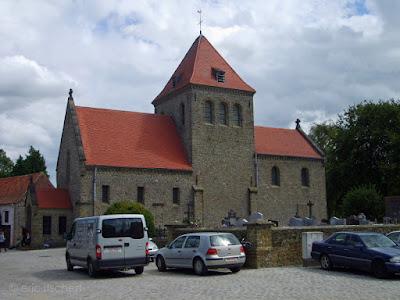 église romane,aubechies