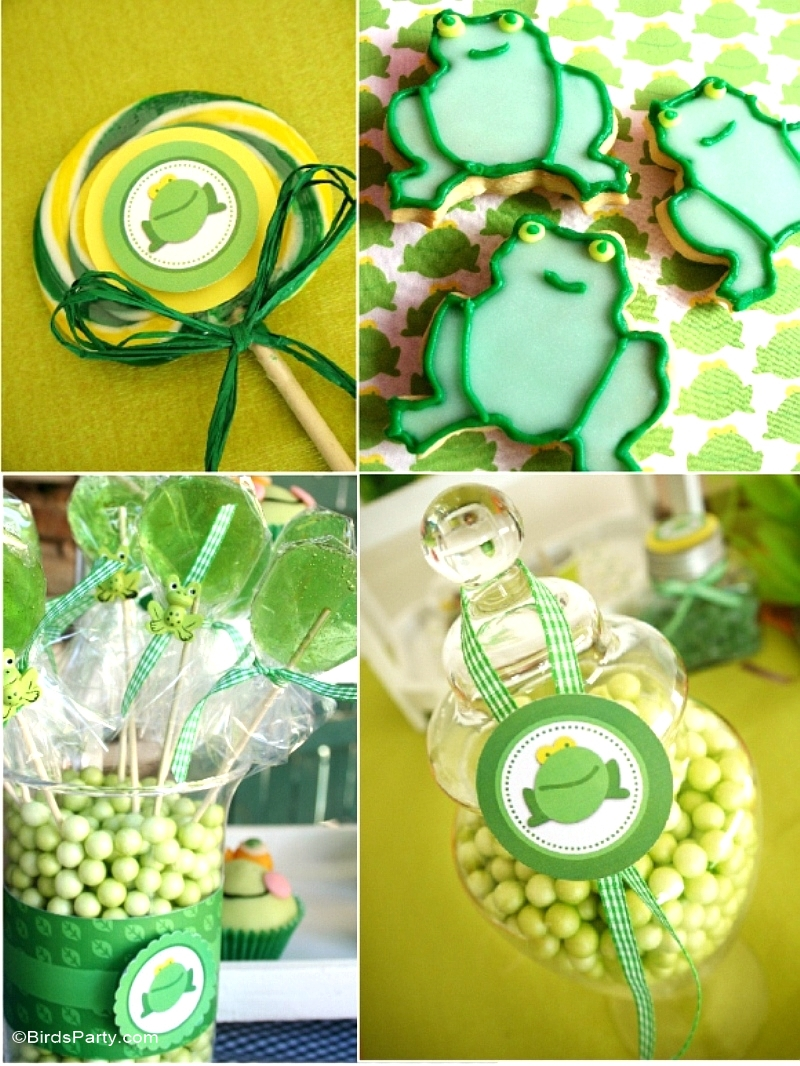 Leap Year Frog Themed Party Ideas - BirdsParty.com