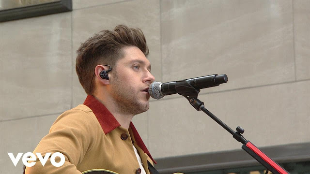 Niall Horan Performs 'Flicker' On Today Show