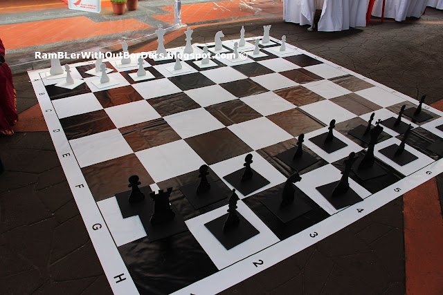 Chess board, Campbell Lane, Singapore