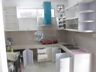 Furniture Semarang - Kitchen Set Dengan Pintu Slow Motion