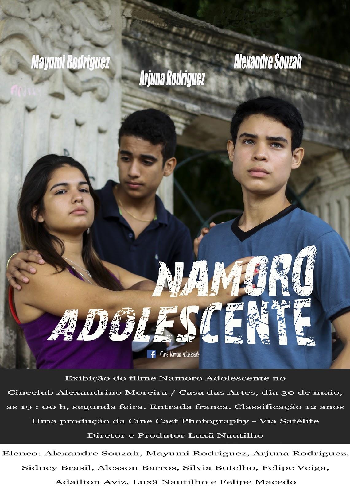 Exibição do filme Namoro Adolescente no Cineclub Alexandrino Moreira / Casa das Artes, 30.05.2016