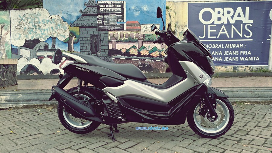 Review Yamaha Nmax Non Abs 2017 Naw 32