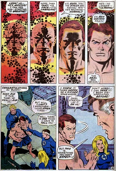 Fantastic Four 107-AndNowTheThing