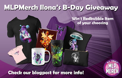 MLPMerch.com Ilona's B-Day Giveaway