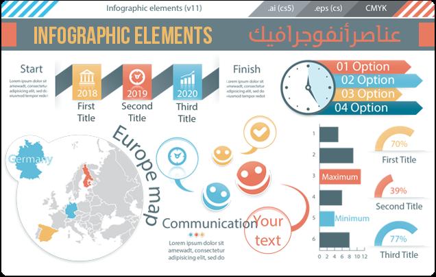 الانفوغرافيك infographics