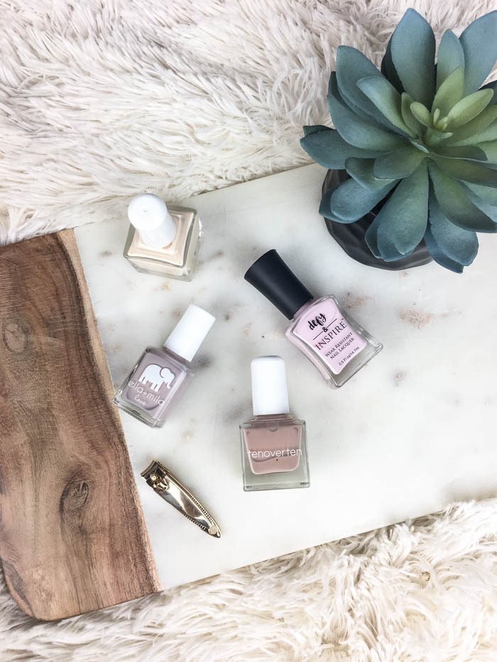 neutral colored nail polishes