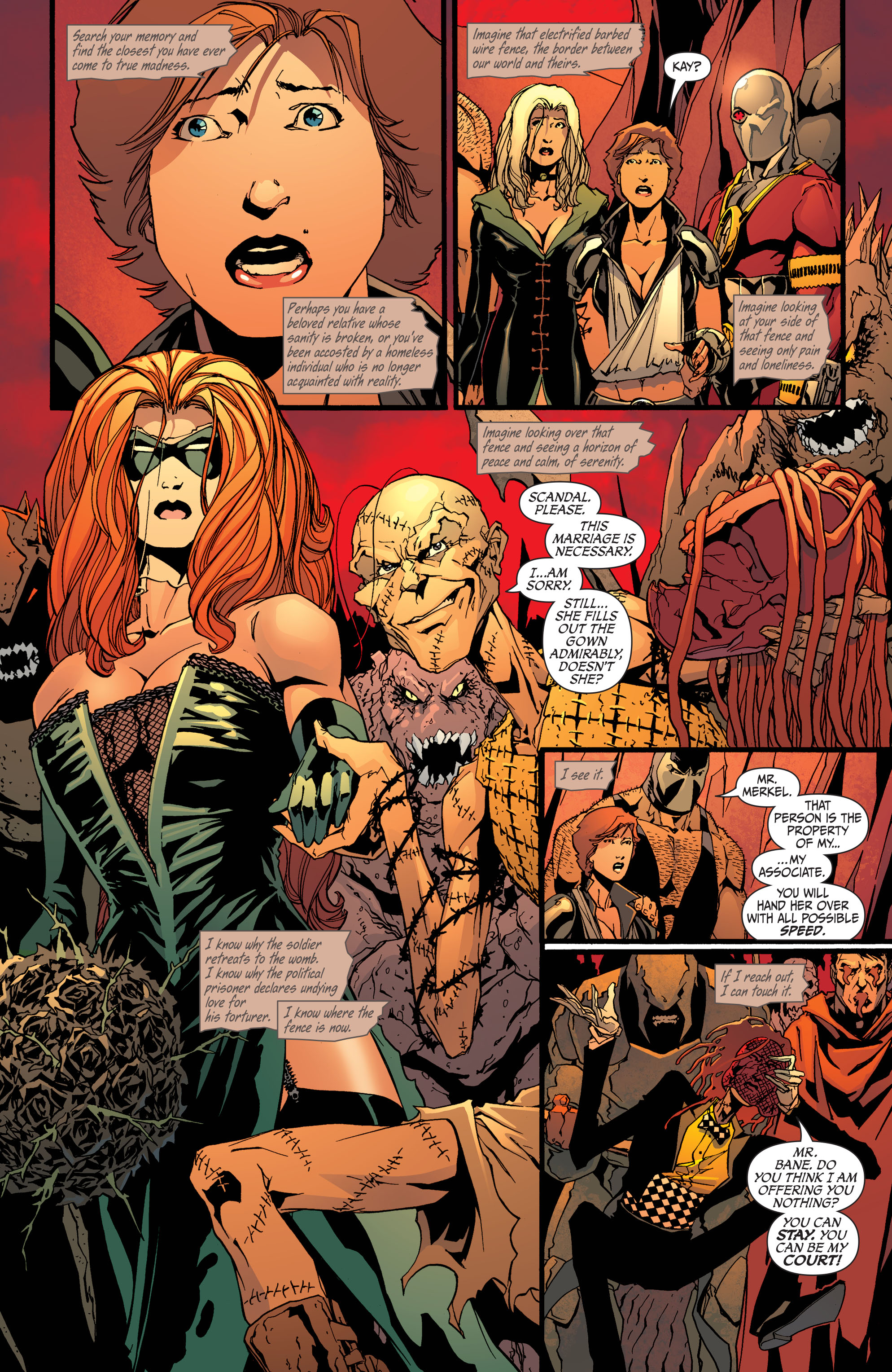 Read online Secret Six (2008) comic -  Issue #33 - 2
