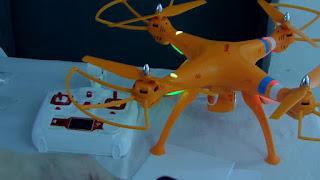 Cara FPV Drone Syma - GudangDrone
