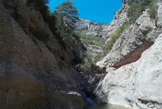 Barranquismo con Explora Guies.